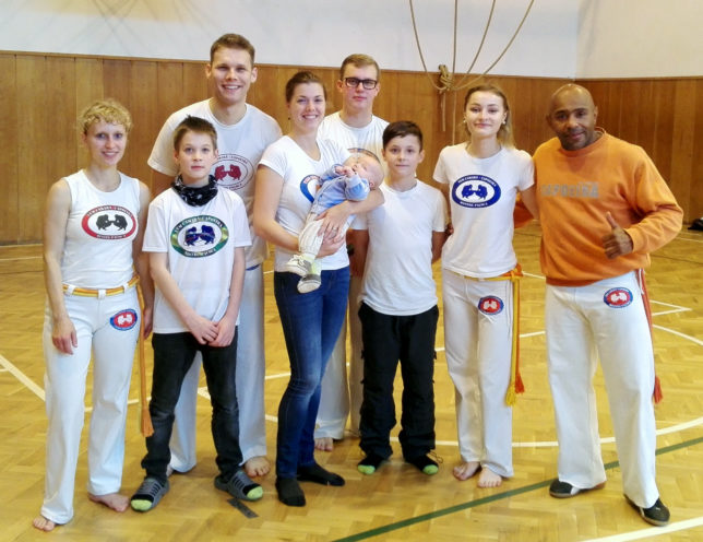 Capoeira Opava na workshopu v Olomouci